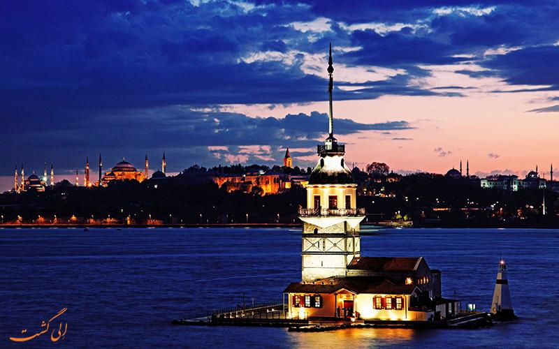 بازدید برج دختر استانبول