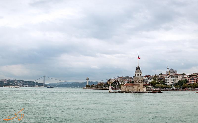 بازدید از برج دختر استانبول
