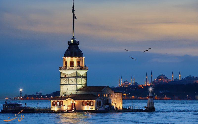 برج دختر استانبول کجاست!