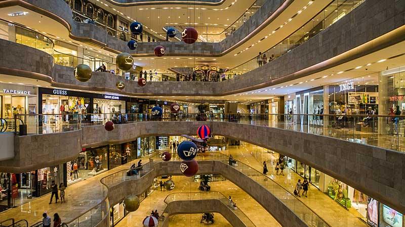 nanjing deji plaza shopping center