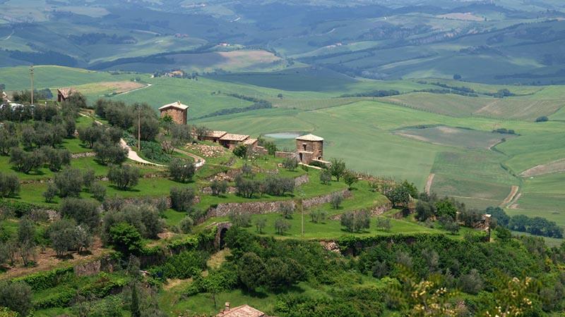 روستایی در ایتالیا