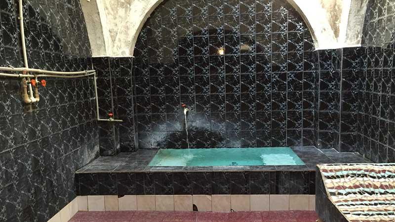 sulfur bath in tbilisi