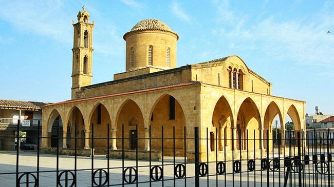cyprus paphos agios mamas church in morfou