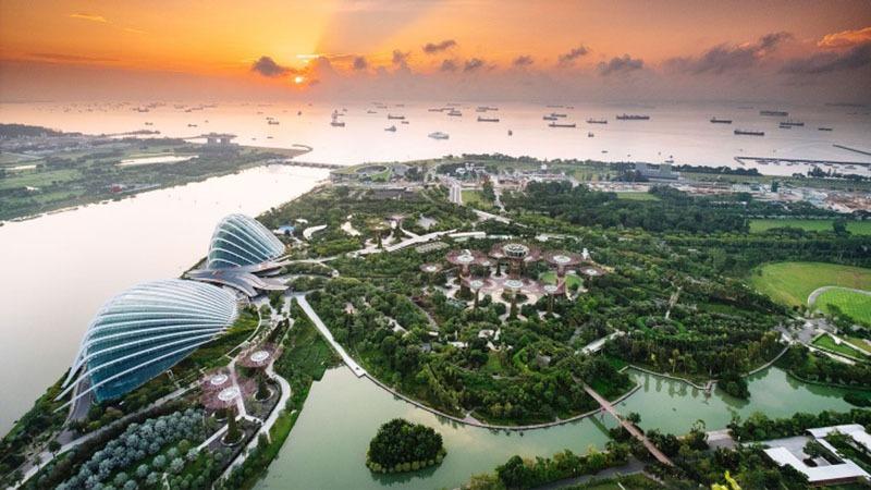 viwe in singapor
