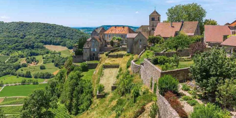 Franche-Comte, France