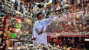 mutrah souq souvenirs shop