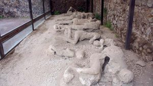 people in pompeii