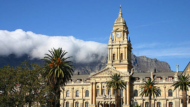 city hall in africa