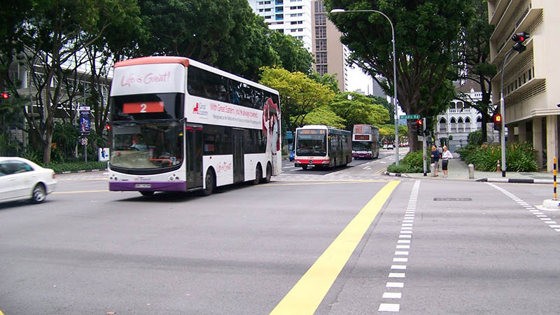 singapore clean streets