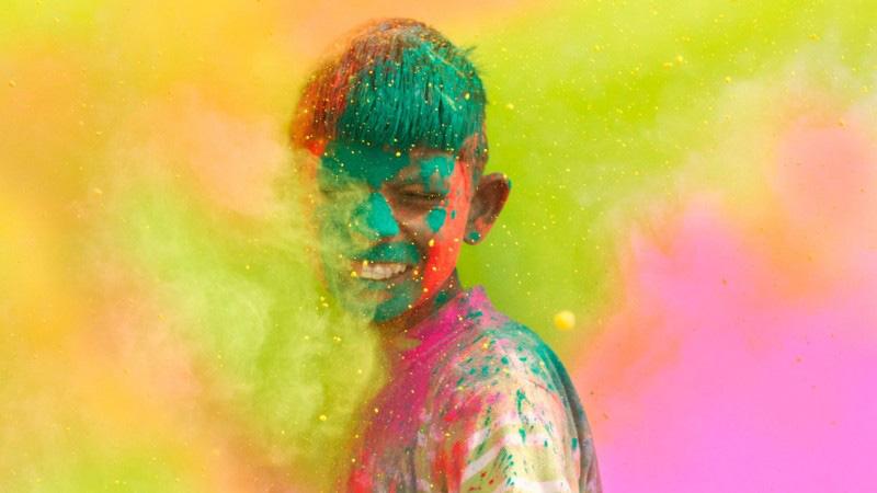 فستیوال هولی در هند