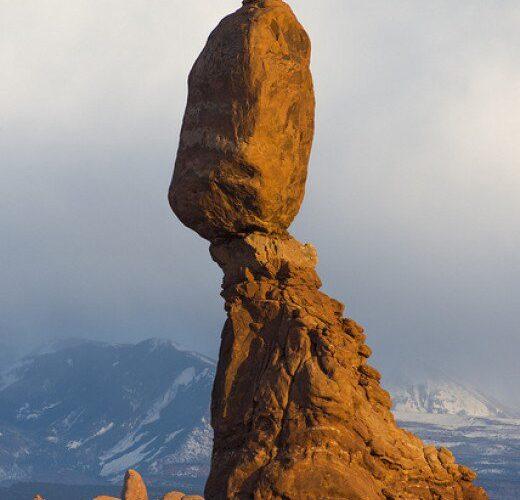 صخره پارک ملی آرچز