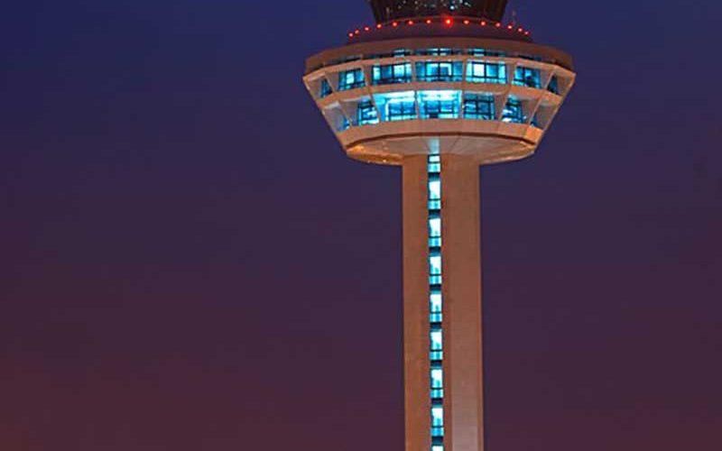 برج مراقبت فرودگاه بین المللی چانگی