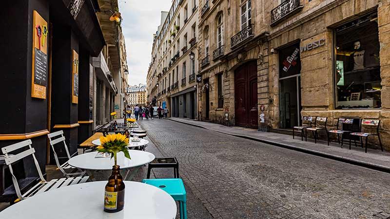 خیابانی در پاریس
