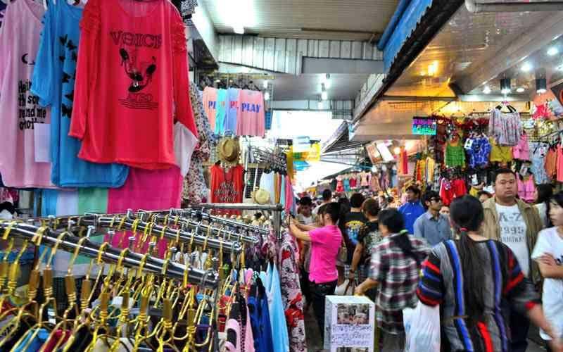 بازار پراتونام بانکوک