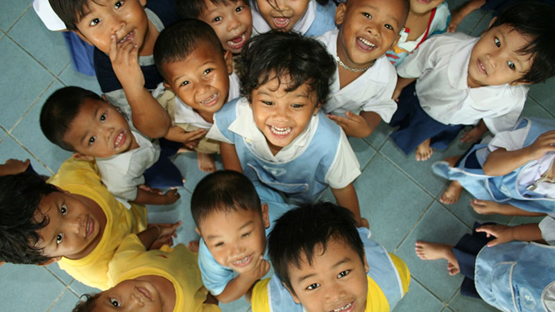 children in thailand