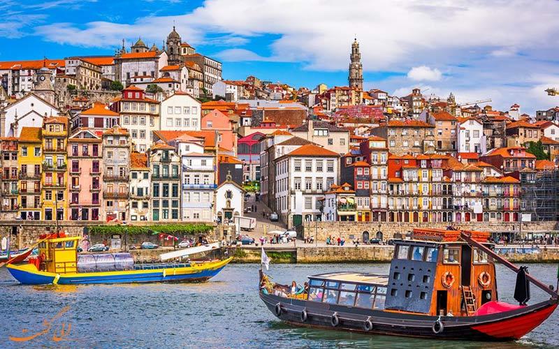 نمایی از شهر لیسبون در پرتغال