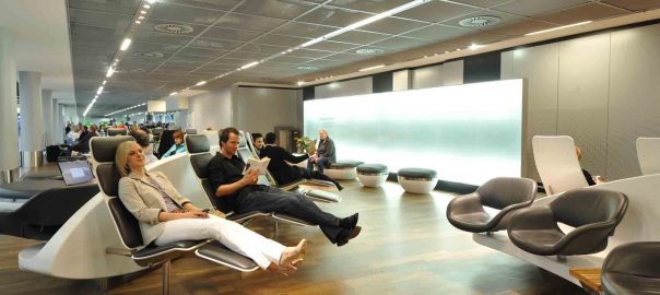 استراحت در فرودگاه