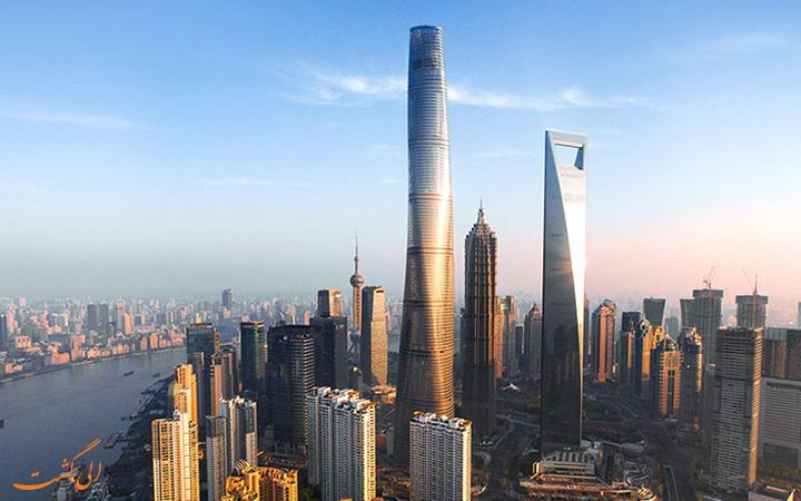برج شانگهای، چین