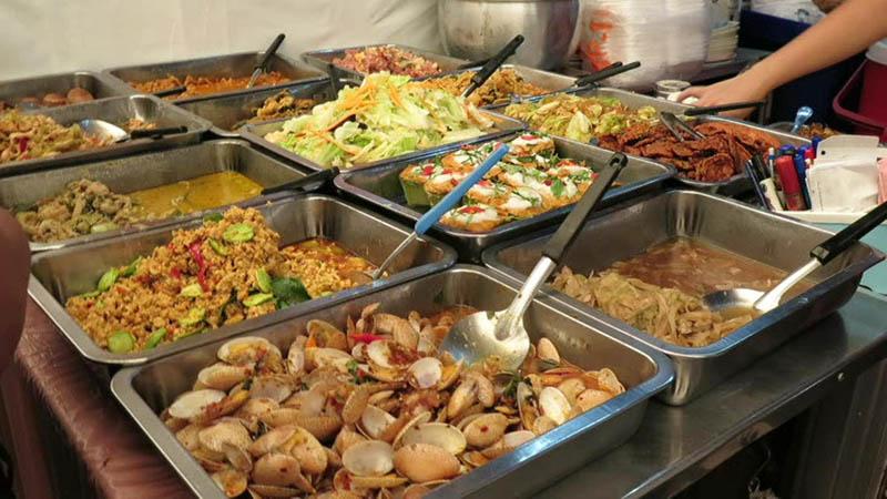 street food in bankok