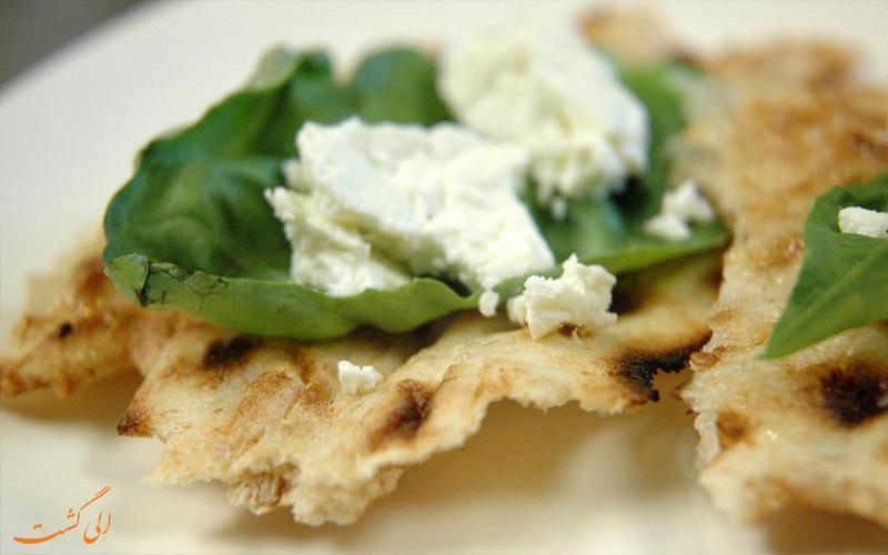 سنگک-ایرانی- غذاهای دبی