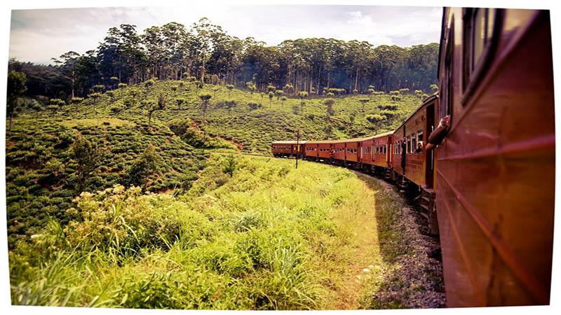مسیرهای قطارگردی سریلانکا