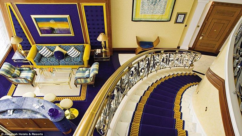 سوییت دوبلکس هتل العرب