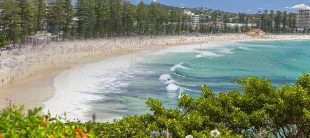 ساحل مانلی - دیدنی های سیدنی