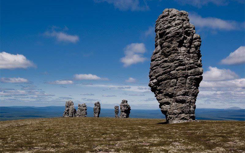 جاذبه صخره های منپاپانر روسیه
