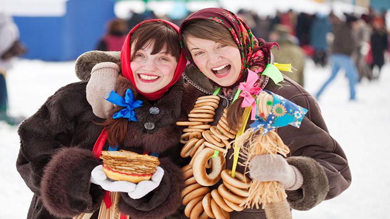 جشن ماسلنیتسا | روسیه