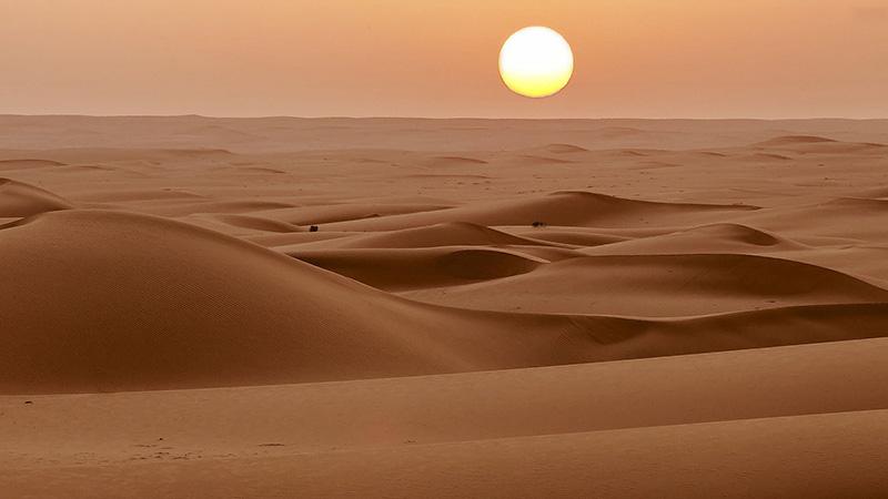 سکوت عجیب صحرای آفریقا