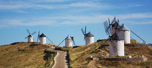 آسیاب های بادی لا منچا