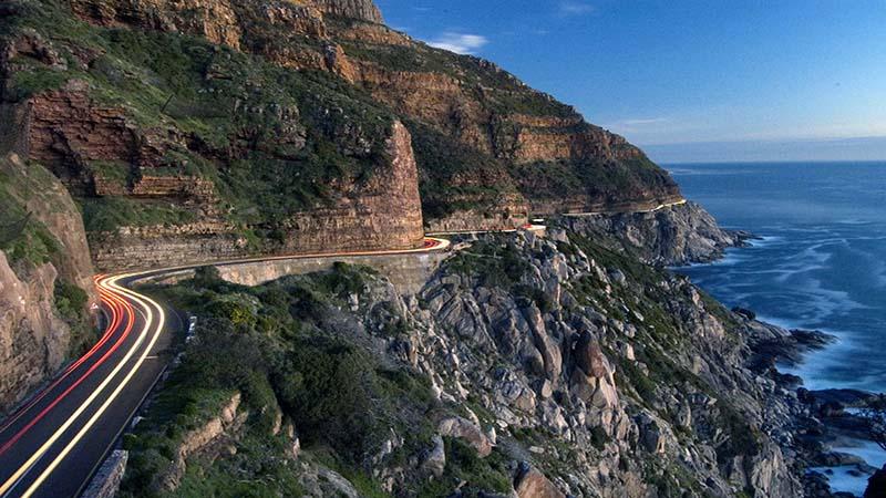 قله چپمن در آفریقای جنوبی