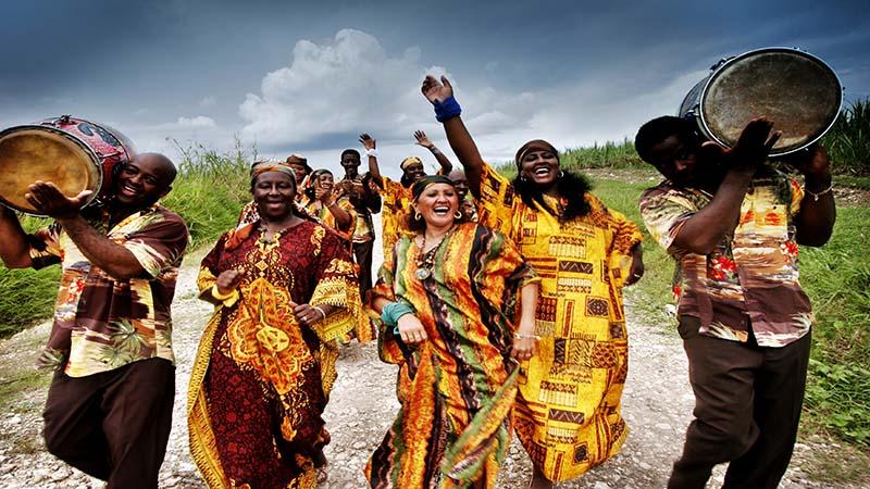مردم شاد آفریقا