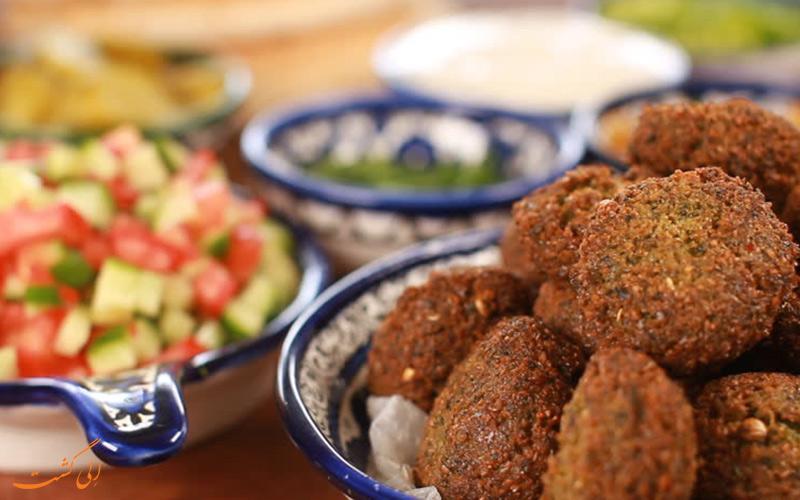 فلافل از غذاهای دبی