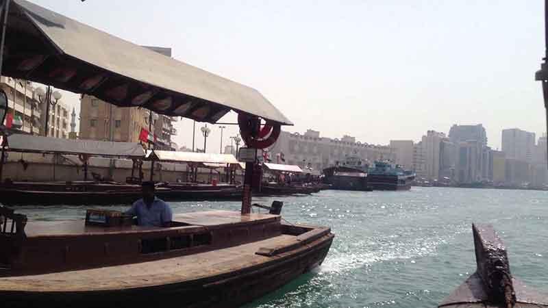قایق در دبی
