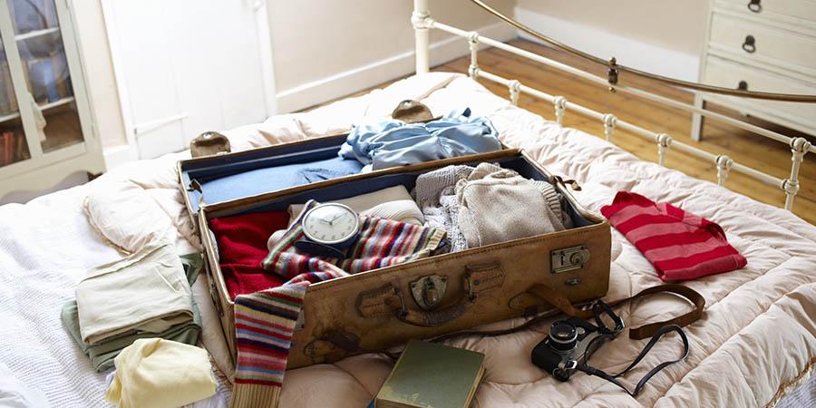 5 راز بستن چمدان سبک برای سفر