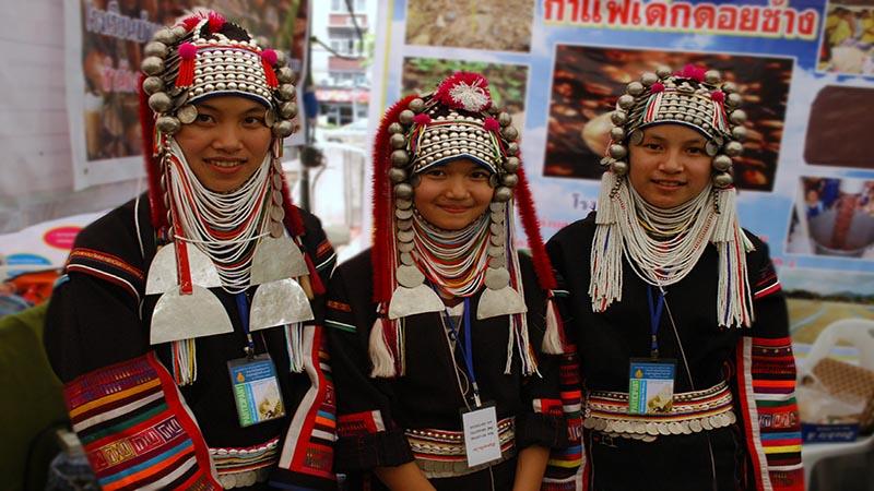 لبخند مردم تایلند