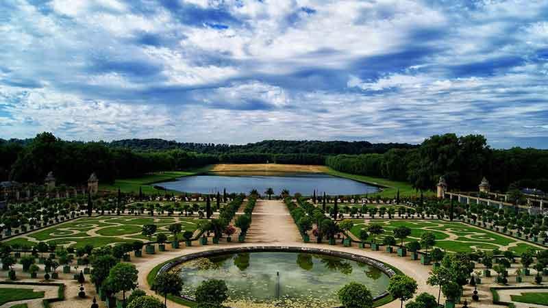 باغ ورسای فرانسه