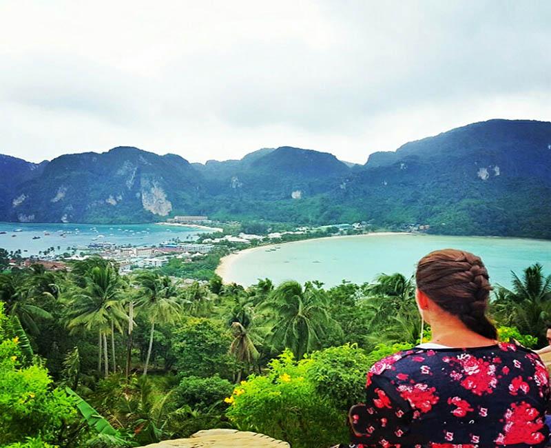 منظره جزیره فی فی تایلند