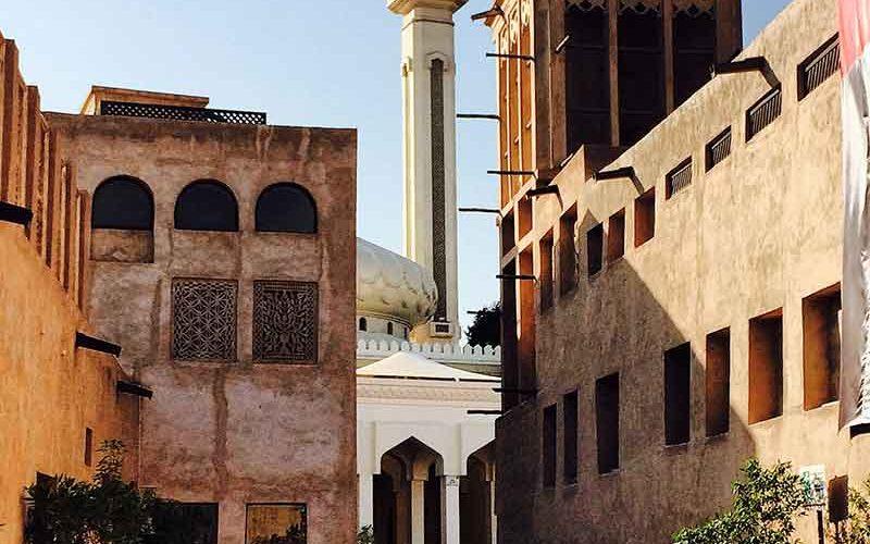محله تاریخی دبی