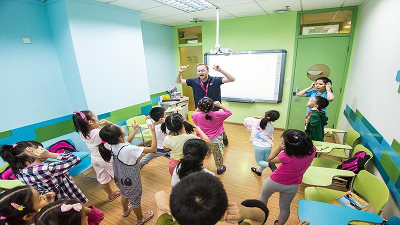 آموزش زبان انگلیسی در چین