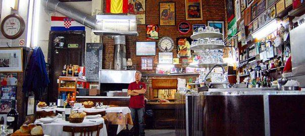 رستوران های دربسته