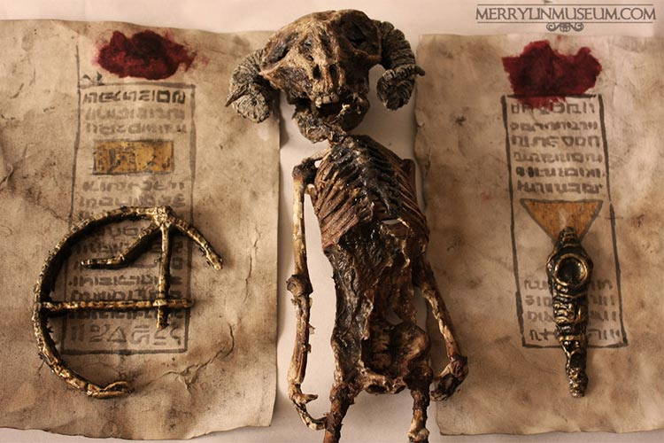 عجیب ترین مخلوقات تاریخ در زیرزمین یک یتیم خانه