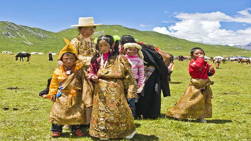 فرهنگ تبتی در شمال شرقی هند