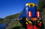 طولانی ترین خط راه آهن جهان کجاست؟