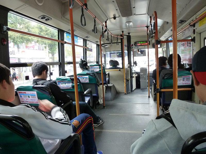 اتوبوس در کره جنوبی