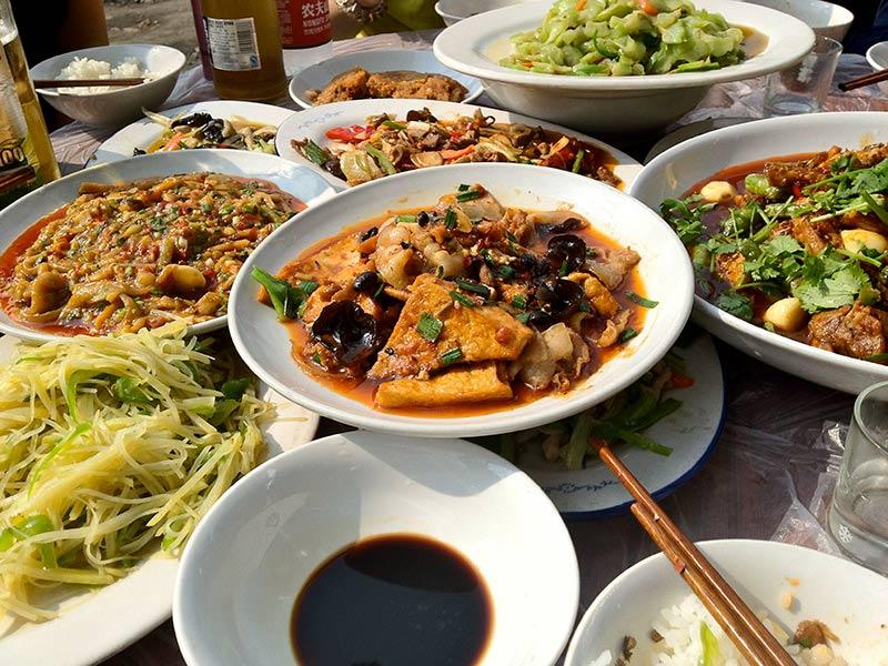 غذا خوردن در چین