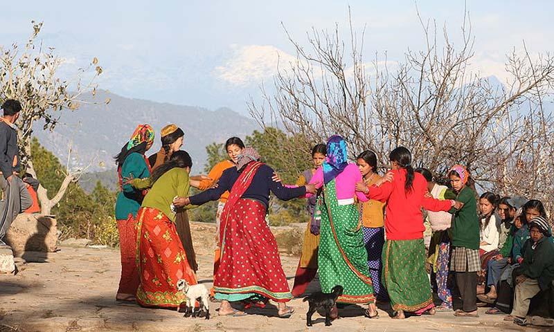 روستای هیمالیا هند