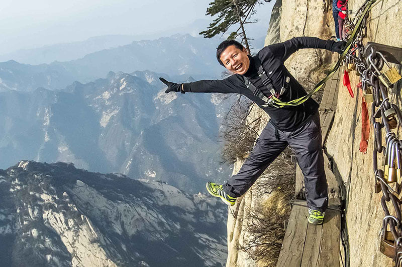 کوه هوآشان چین | گذرگاه هوآشان