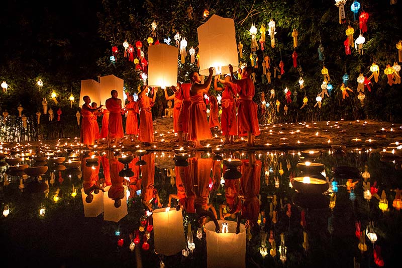 جشنواره نور | تور تایلند